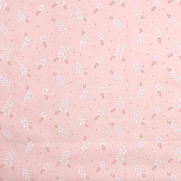 June Floral Blush Craft Cotton Blush (Pink)