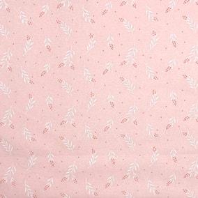 June Floral Blush Craft Cotton