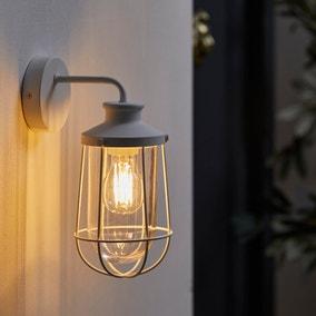 Nichol Outdoor White Wall Light