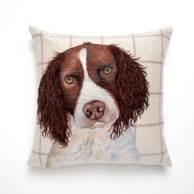 Springer Spaniel Tapestry Cushion