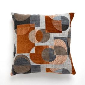 Oscar Cushion 43x43cm Navy Butterscotch