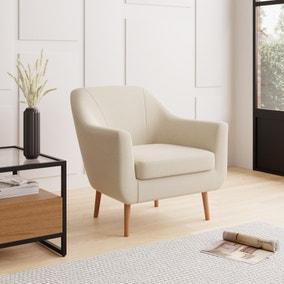 Eddie Fabric Tub Chair