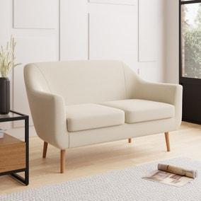 Eddie Luna Fabric 2 Seater Compact Tub Sofa
