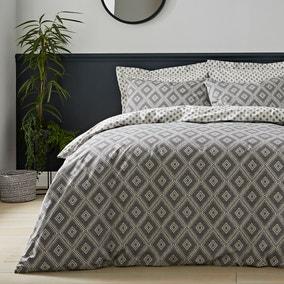 Neo Geometric 100% Cotton Duvet Cover and Pillowcase Set