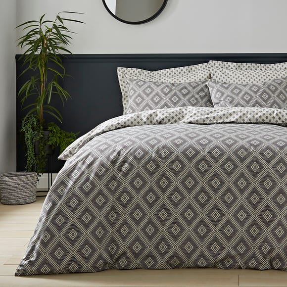 Neo Geometric 100% Cotton Duvet Cover and Pillowcase Set  undefined
