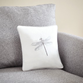 Dragonfly Piped Cushion