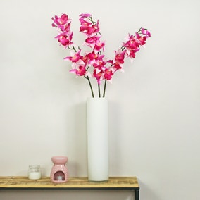 Fuchsia Real Touch Orchid 3 Pack
