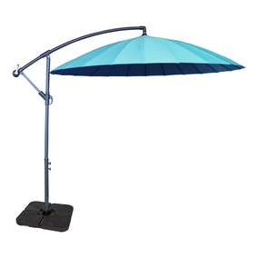 Shangahi Blue Cantilever Parasol