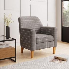 Cooper Window Pane Check Armchair
