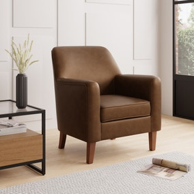 Cooper Faux Leather Armchair