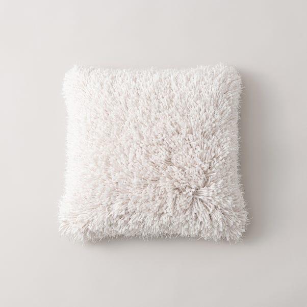 Brooke Textured Cushion White undefined