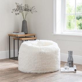 Snowball White Bean Bag