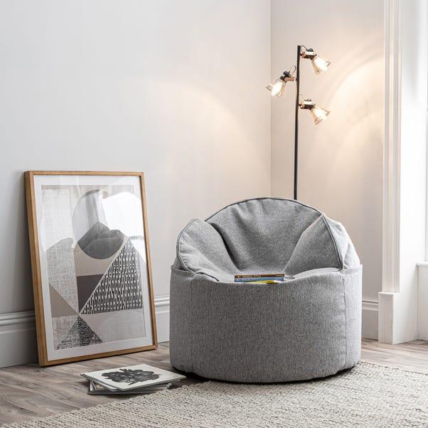 Luna Multi Functional Mid Grey Chair  Grey
