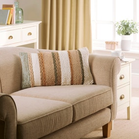 EL Natural Plaited Cushion