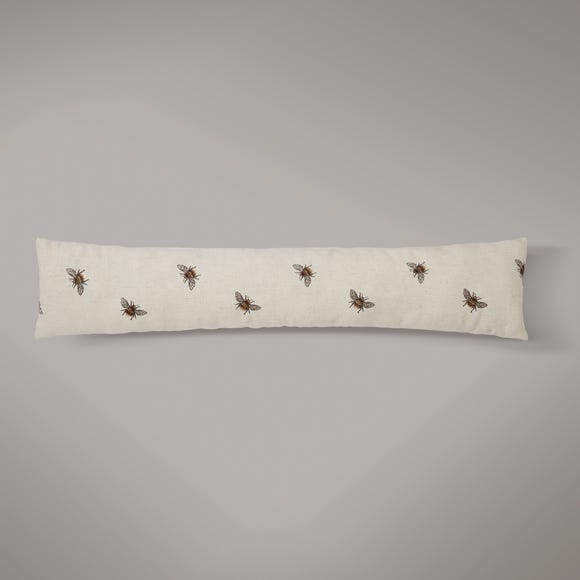 Embroidered Bee Draught Excluder MultiColoured