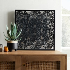 Tribal Cut Out Paper Framed Print