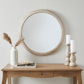 Churchgate Round Oak Mirror