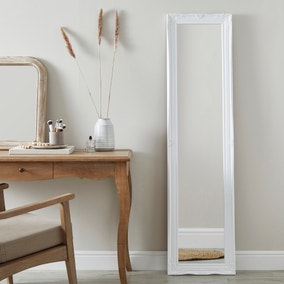 Swept Leaner Small Mirror