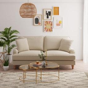 Beatrice Fabric 3 Seater Sofa