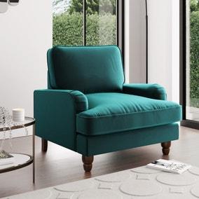 Beatrice Velvet Armchair