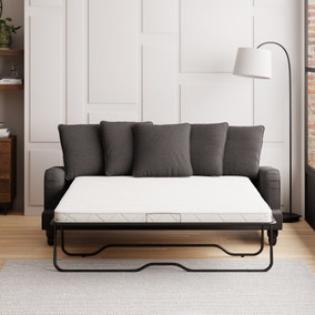 Beatrice Scatter Back Fabric 3 Seater Sofa Bed
