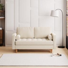 Zoe Flat Weave 2 Seater Sofa