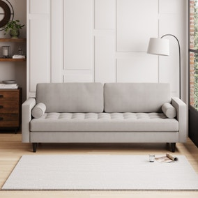Zoe Boucle 4 Seater Sofa