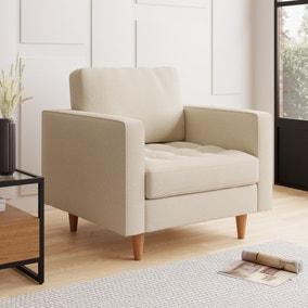 Zoe Flat Weave Armchair