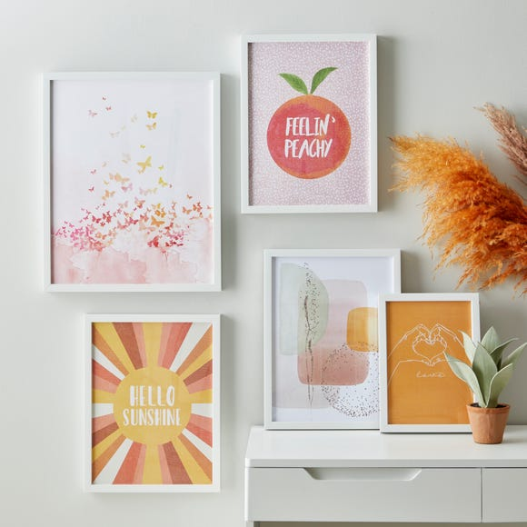 Pack of 5 Essentials Gallery Wall Frames White
