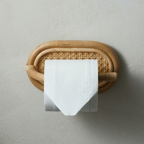 Bent Cane Anti Bacterial Toilet Roll Holder