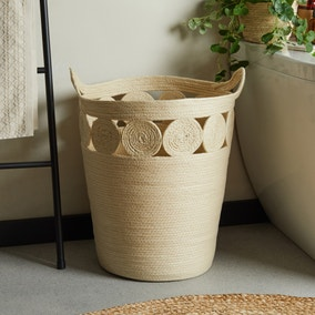 Maize Natural Laundry Basket