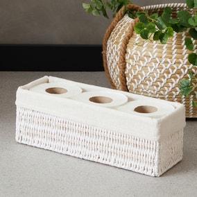 Vintage Slim Line Paper Storage Basket