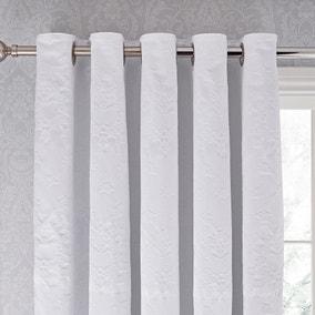 Dorma Purity Kempley Blackout Eyelet Curtains