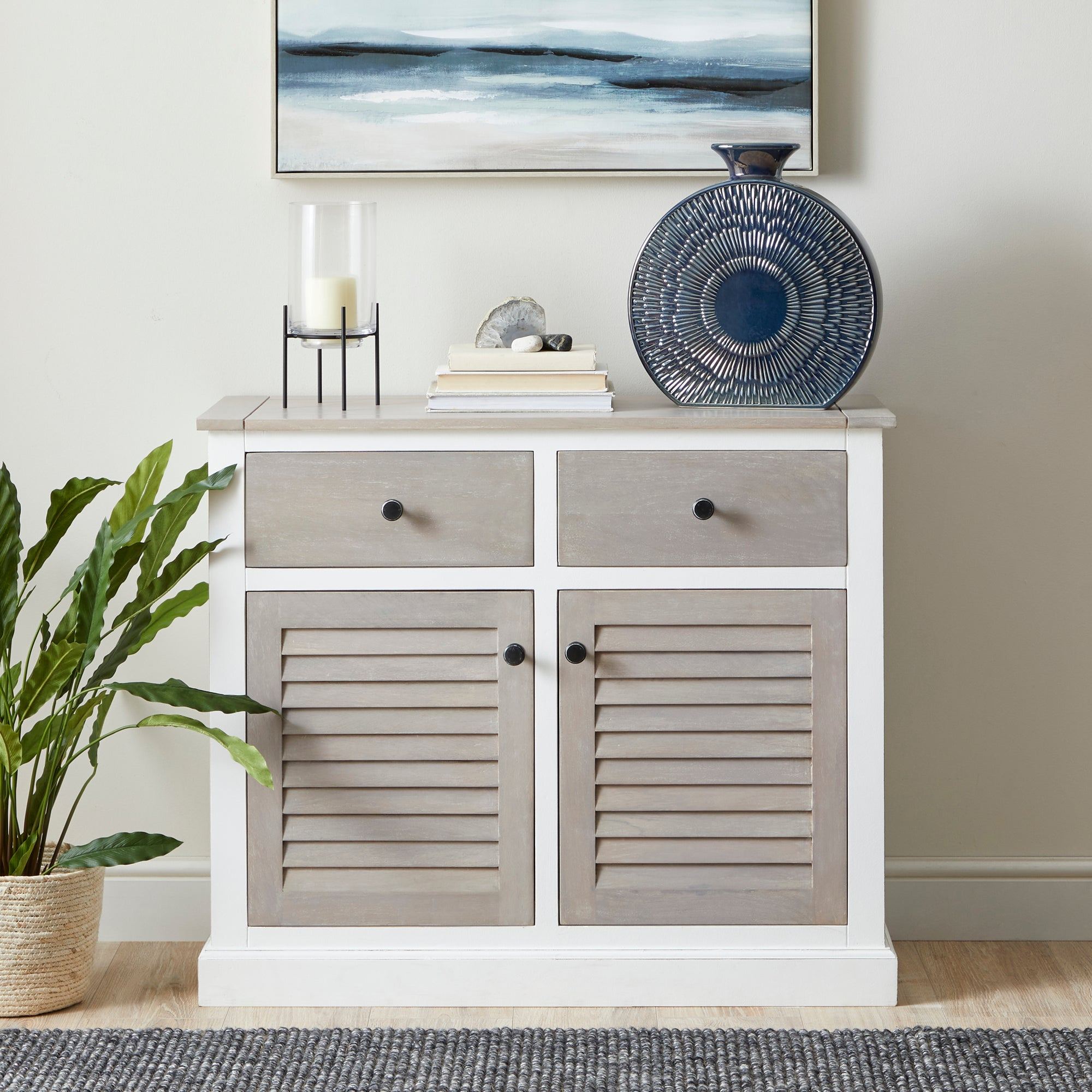 Harbor Small Sideboard White