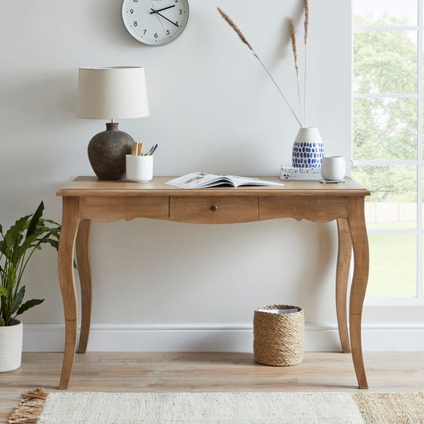 Giselle Dressing Desk Wood (Brown)
