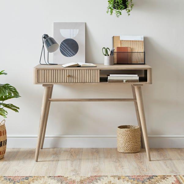 Priya Desk Wood (Brown)