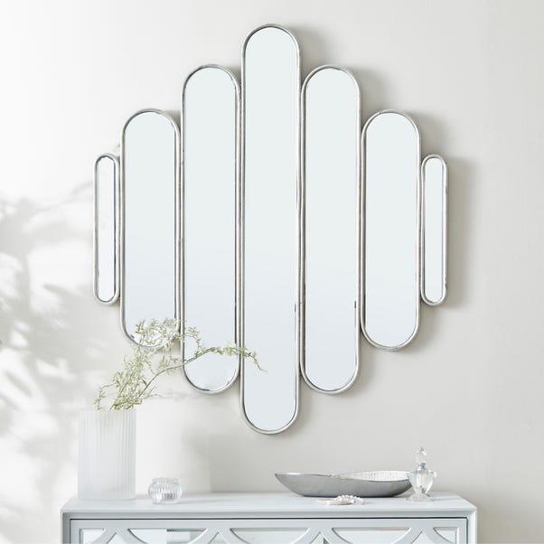 Vivian Wall Mirror Silver