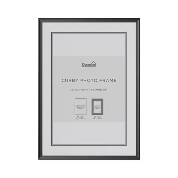 Curby Photo Frame Black  undefined