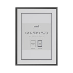 Curby Photo Frame Black