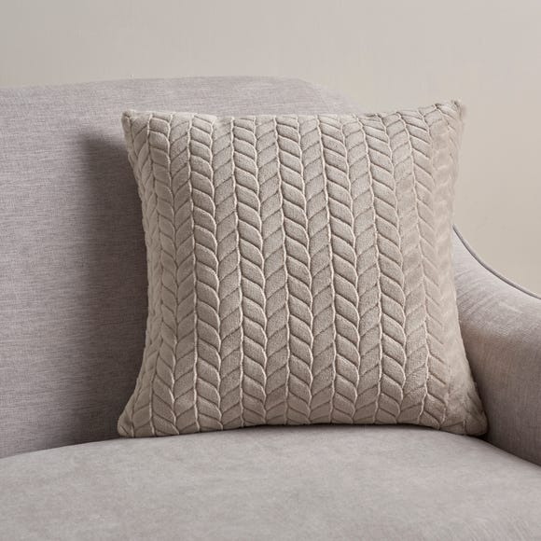 Amelia Cushion Cover Grey undefined