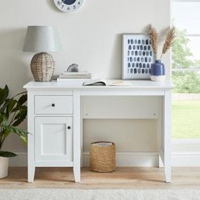 Lynton White Desk