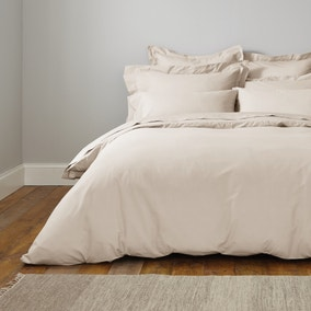 Fogarty Cooling Cotton White Sands Duvet Cover