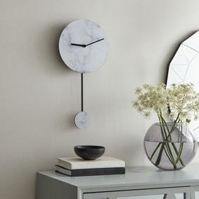 Marble Pendulum Clock