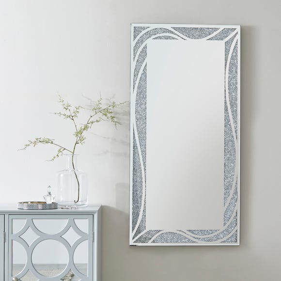 Mirage Full Length Mirror Silver undefined