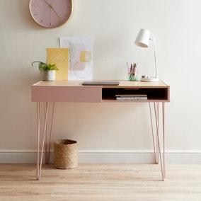 Penelope Blush Desk