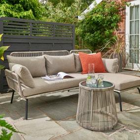 Elland 3 Seater Corner Sofa Set