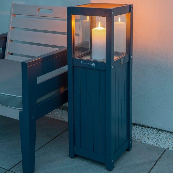 Galaxy Candle Lamp Light Grey