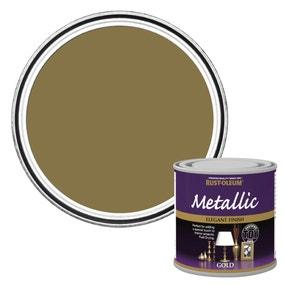 Rust-Oleum Gold Metallic Paint 250ml