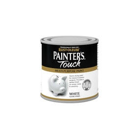 Rust-Oleum White Gloss Painter's Touch Toy Safe Paint 250ml