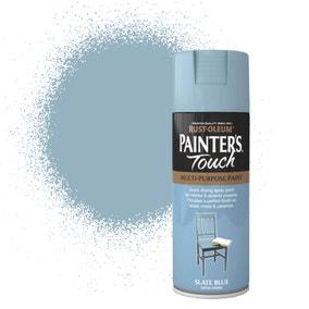 Rust-Oleum Slate Blue Satin Painter's Touch Spray Paint 400ml